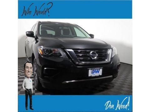 Magnetic Black 2017 Nissan Pathfinder S 4x4