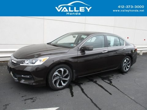 Kona Coffee Metallic 2016 Honda Accord EX Sedan