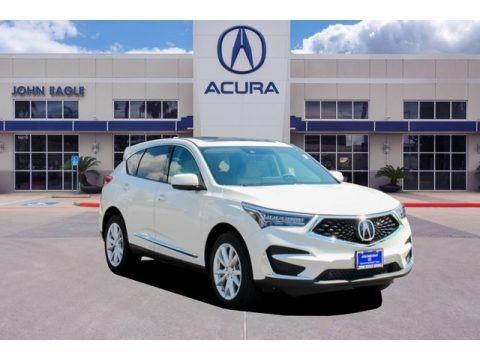 White Diamond Pearl 2019 Acura RDX FWD
