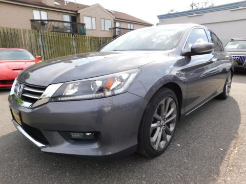 Modern Steel Metallic 2014 Honda Accord Sport Sedan