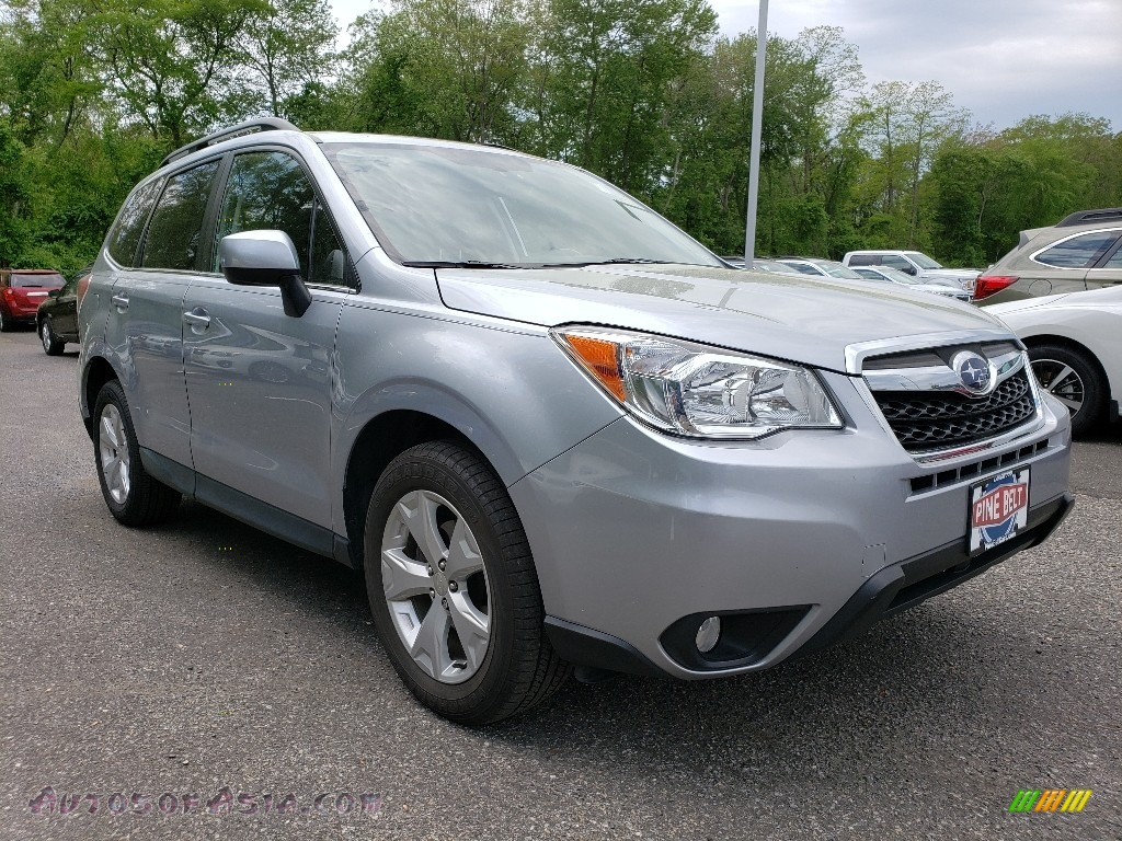 2015 Forester 2.5i Limited - Ice Silver Metallic / Black photo #1
