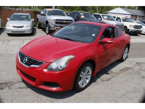 Red Alert 2012 Nissan Altima 2.5 S Coupe