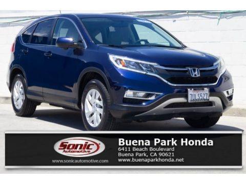 Obsidian Blue Pearl 2016 Honda CR-V EX
