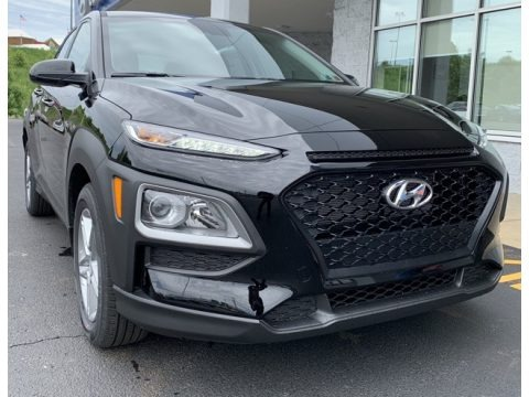 Ultra Black 2019 Hyundai Kona SE AWD