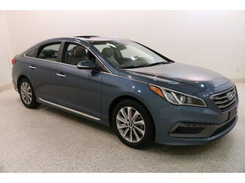 Nouveau Blue 2016 Hyundai Sonata Sport