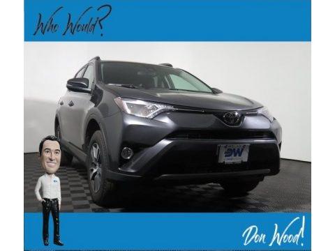 Magnetic Gray Metallic 2018 Toyota RAV4 XLE AWD