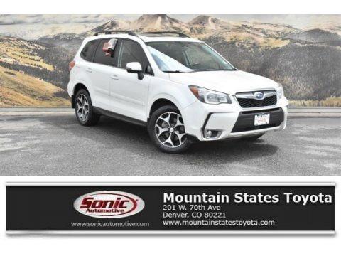 Satin White Pearl 2014 Subaru Forester 2.0XT Touring
