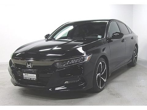 Crystal Black Pearl 2018 Honda Accord Sport Sedan
