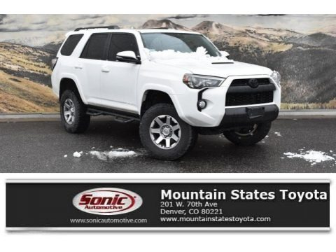 Super White 2015 Toyota 4Runner Trail Premium 4x4