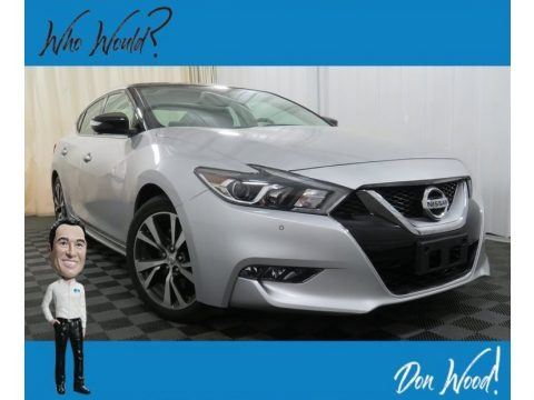 Brilliant Silver 2016 Nissan Maxima Platinum