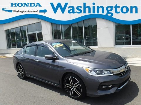 Modern Steel Metallic 2017 Honda Accord Sport Special Edition Sedan