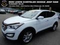 Hyundai Santa Fe Sport 2.0T AWD Frost White Pearl photo #1