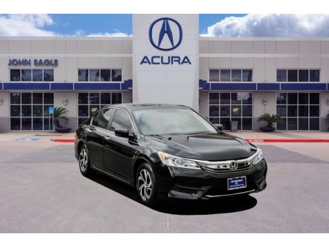 Crystal Black Pearl 2016 Honda Accord LX Sedan