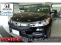 Honda Accord EX-L Sedan Crystal Black Pearl photo #1