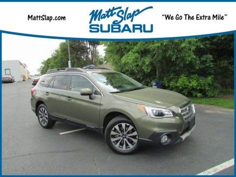 Wilderness Green Metallic 2017 Subaru Outback 2.5i Limited