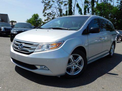 Alabaster Silver Metallic 2012 Honda Odyssey Touring