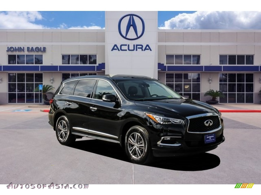 2019 QX60 Luxe AWD - Imperial Black / Graphite photo #1