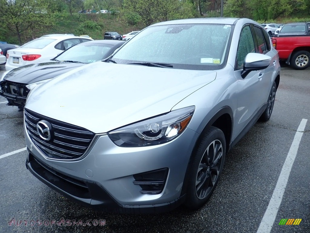 2016 CX-5 Grand Touring AWD - Sonic Silver Metallic / Black photo #1