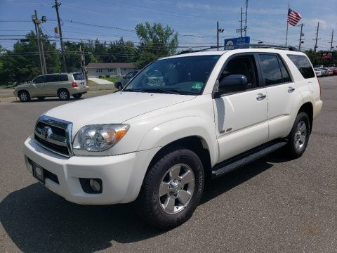 Natural White 2006 Toyota 4Runner SR5 4x4