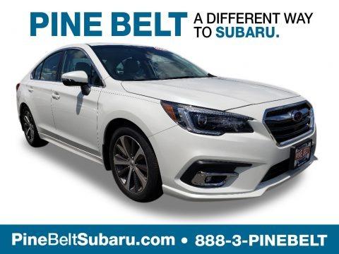 Crystal White Pearl 2019 Subaru Legacy 2.5i Limited