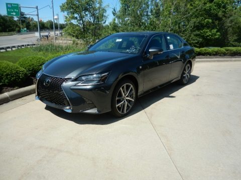 Smoky Granite Mica 2019 Lexus GS 350 F Sport AWD