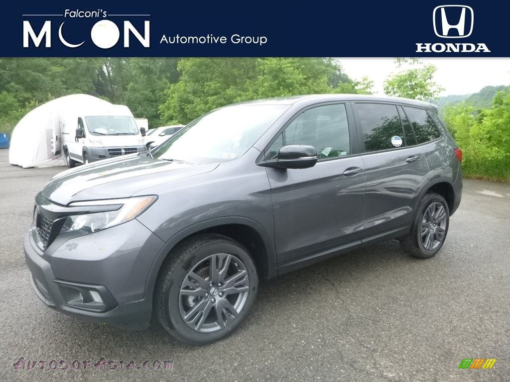2019 Passport EX-L AWD - Modern Steel Metallic / Black photo #1