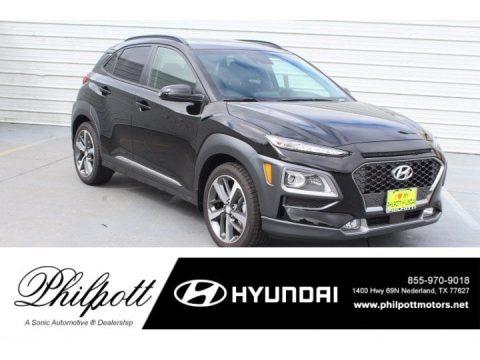 Ultra Black 2019 Hyundai Kona Ultimate