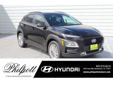 Ultra Black 2019 Hyundai Kona SEL