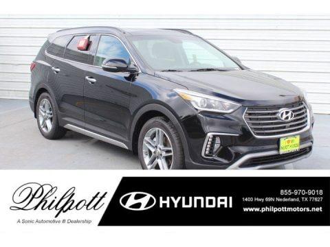 Becketts Black 2019 Hyundai Santa Fe XL Limited Ultimate