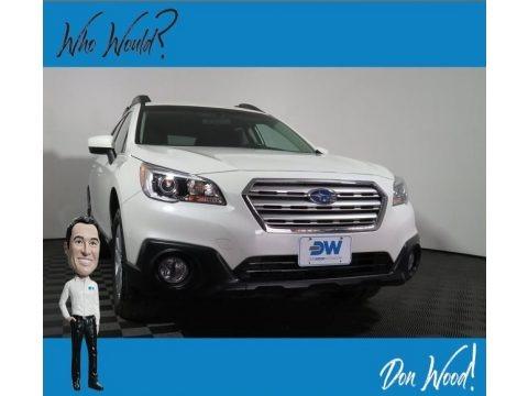 Crystal White Pearl 2017 Subaru Outback 2.5i Premium