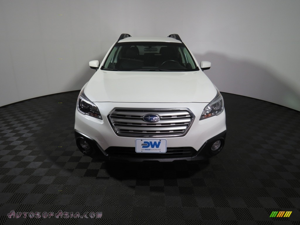 2017 Outback 2.5i Premium - Crystal White Pearl / Slate Black photo #4