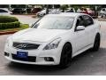 Infiniti G 37 Journey Sedan Moonlight White photo #3