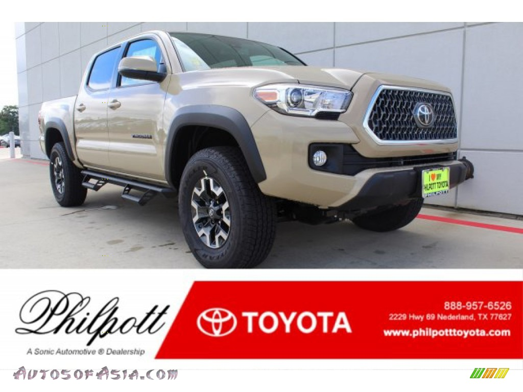 2019 Tacoma TRD Off-Road Double Cab 4x4 - Quicksand / TRD Graphite photo #1