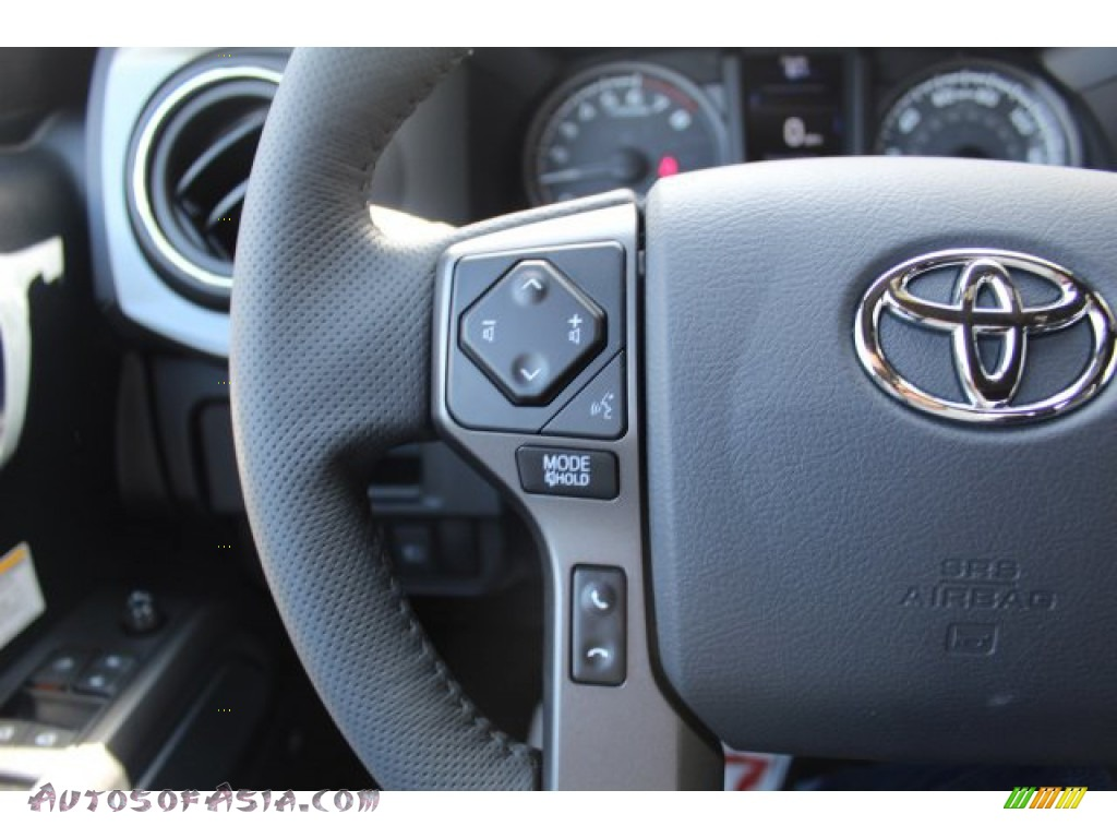2019 Tacoma TRD Off-Road Double Cab 4x4 - Cement Gray / Black photo #11