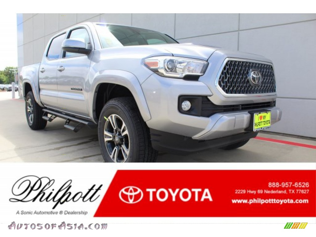 2019 Tacoma TRD Sport Double Cab - Silver Sky Metallic / TRD Graphite photo #1