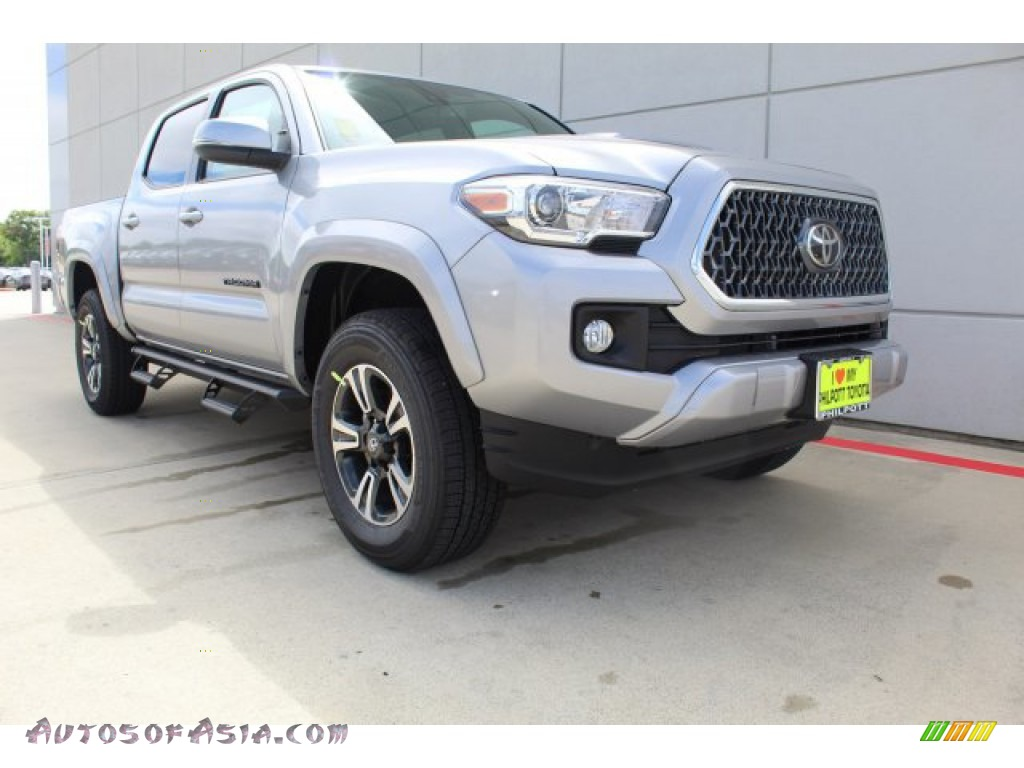 2019 Tacoma TRD Sport Double Cab - Silver Sky Metallic / TRD Graphite photo #2