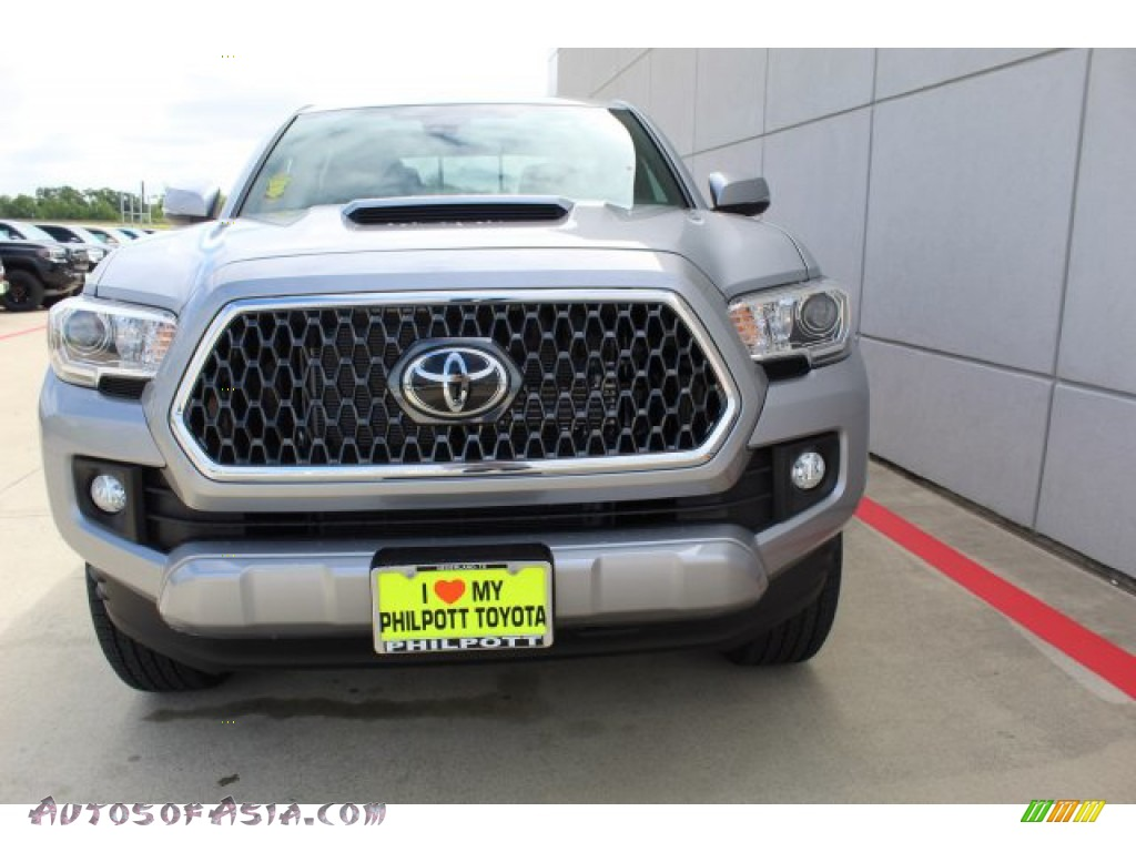 2019 Tacoma TRD Sport Double Cab - Silver Sky Metallic / TRD Graphite photo #3