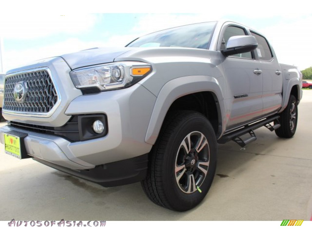 2019 Tacoma TRD Sport Double Cab - Silver Sky Metallic / TRD Graphite photo #4