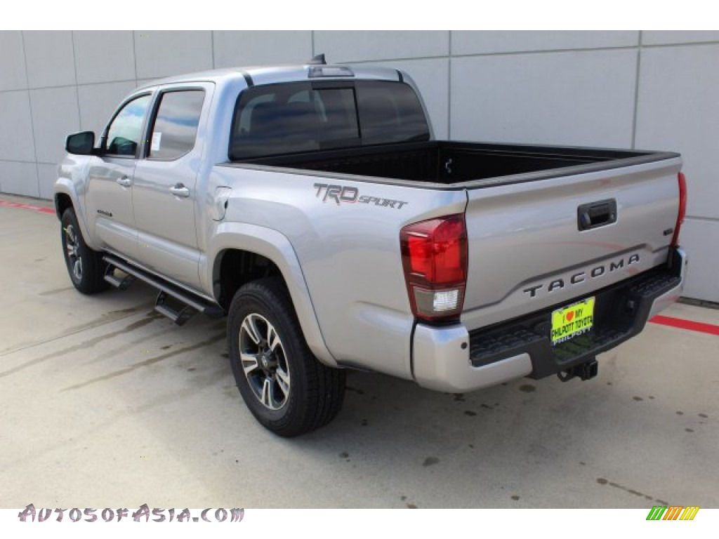 2019 Tacoma TRD Sport Double Cab - Silver Sky Metallic / TRD Graphite photo #6