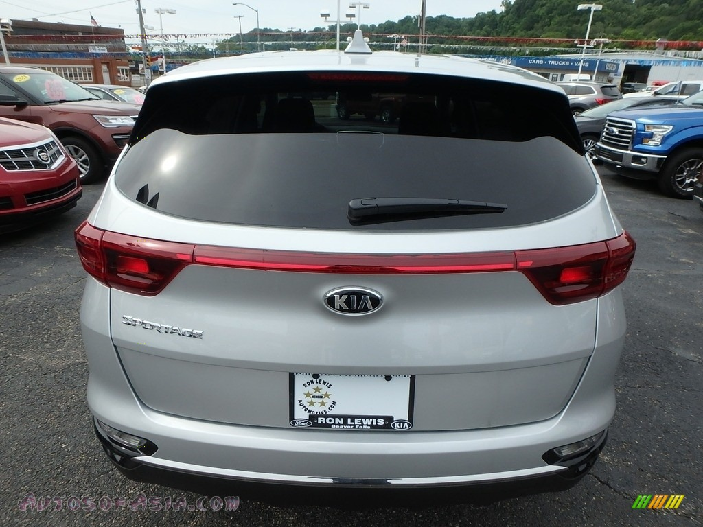 2020 Sportage LX AWD - Sparkling Silver / Black photo #3