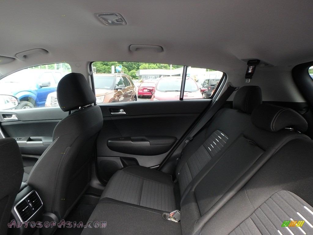 2020 Sportage LX AWD - Sparkling Silver / Black photo #12