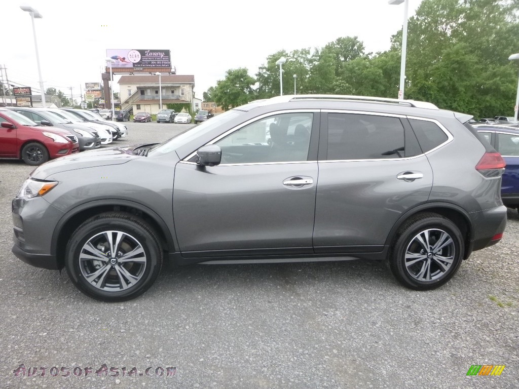 2019 Rogue SV AWD - Gun Metallic / Charcoal photo #7