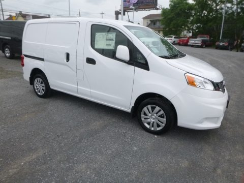 Fresh Powder White 2019 Nissan NV200 SV