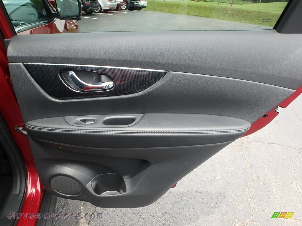 2015 Rogue SL AWD - Cayenne Red / Charcoal photo #7