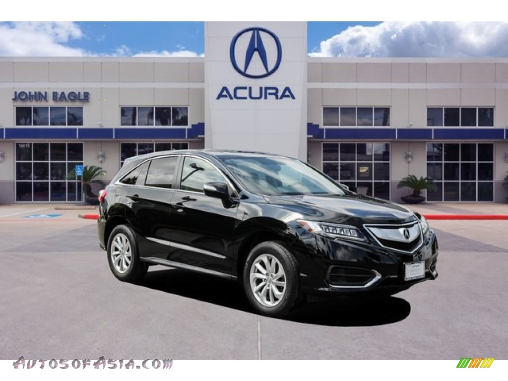 Crystal Black Pearl / Ebony Acura RDX Technology
