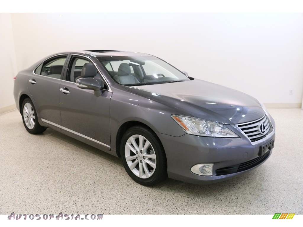 2012 ES 350 - Nebula Gray Pearl / Light Gray photo #1