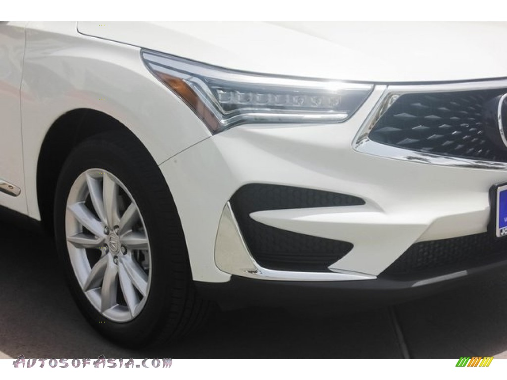 2019 RDX AWD - White Diamond Pearl / Parchment photo #10
