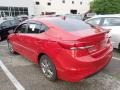 Hyundai Elantra SEL Scarlet Red photo #2