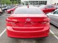 Hyundai Elantra SEL Scarlet Red photo #3