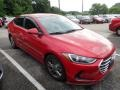 Hyundai Elantra SEL Scarlet Red photo #5